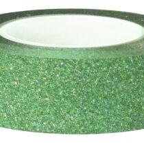 WASHI-GLITTER-GREEN