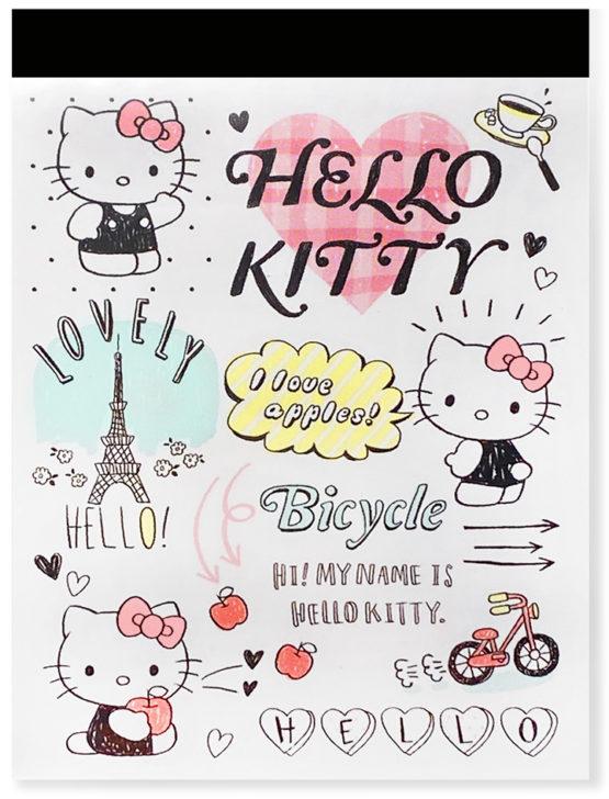 Sanrio Hello Kitty Paris Big Mini Memo Pad