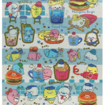 mame-burger stickers