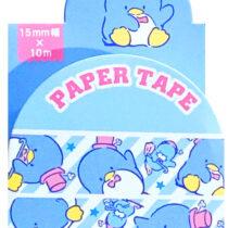 tux-washi tape
