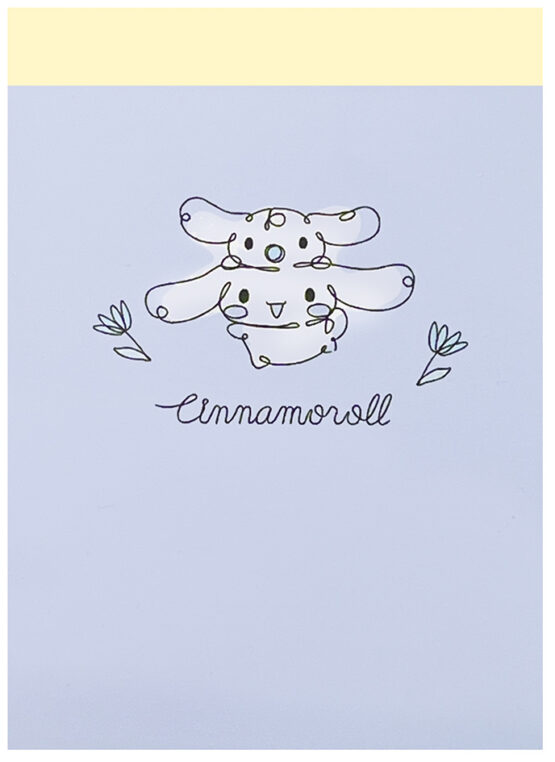 Sanrio Cinnamoroll Flight Big Mini Memo Pad