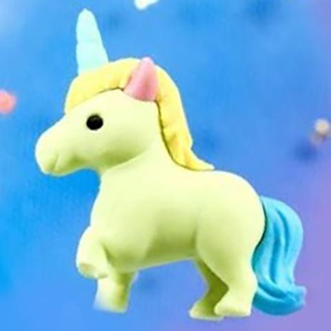 Iwako Unicorn Mini Eraser: Sherbert