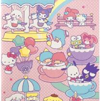 Sanrio-Char Notebook Pink