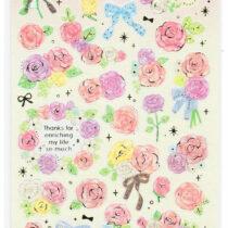 pluie douce pink flowers